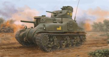 M3A1 Medium Tank · ILK 63516 ·  I LOVE KIT · 1:35