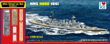 HMS HOOD 1941 - Top Grade Set · ILK 65703 ·  I LOVE KIT · 1:700