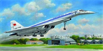 Tu-144 · ICM 14401 ·  ICM · 1:144