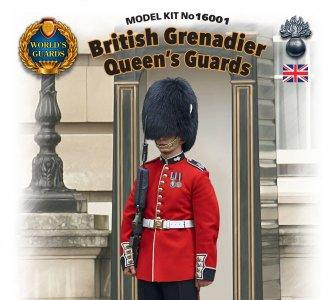 World Guards: Queen Guards Grenadier · ICM 16001 ·  ICM · 1:16