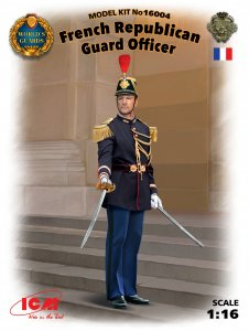 World Guards: Französische Republikanische Offizier · ICM 16004 ·  ICM · 1:16