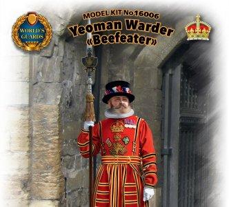 Yeoman Warder Beefeater · ICM 16006 ·  ICM · 1:16