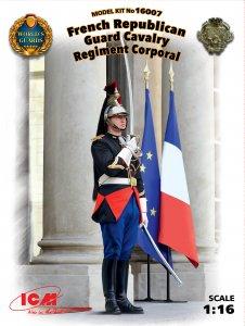 French Republican Guard Cavalry Regiment Corporal · ICM 16007 ·  ICM · 1:16