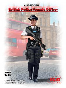 British Police Female Officer · ICM 16009 ·  ICM · 1:16