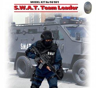 S.W.A.T. Team Leader · ICM 16101 ·  ICM · 1:16