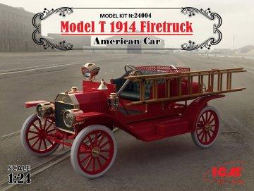 Ford T 1914, Feuerwehr-Fahrzeug · ICM 24004 ·  ICM · 1:24