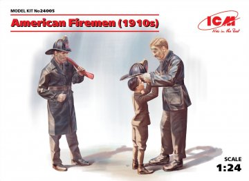 American Firemen 1910s · ICM 24005 ·  ICM · 1:24