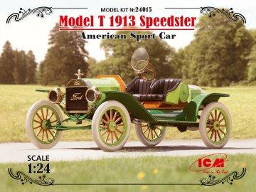 Model T 1913 Speedster,American SportCar · ICM 24015 ·  ICM · 1:24