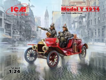 Model T 1914 Fire Truck with Crew · ICM 24017 ·  ICM · 1:24