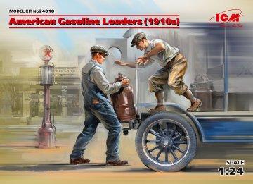 American Gasoline Loaders (1910s) (2 Figuren) · ICM 24018 ·  ICM · 1:24