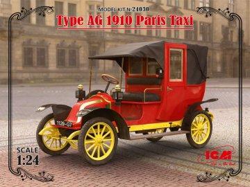 Type AG 1910 Paris Taxi · ICM 24030 ·  ICM · 1:24