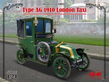 Type AG 1910 London Taxi · ICM 24031 ·  ICM · 1:24