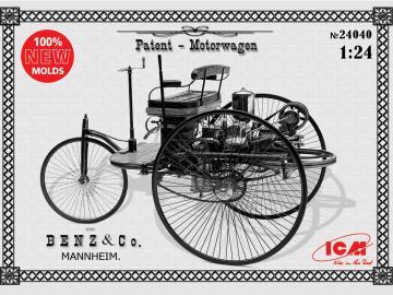 Benz Patent-Motorwagen 1886 · ICM 24040 ·  ICM · 1:24