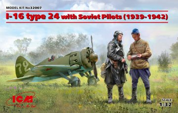 I-16 type 24 with Soviet Pilots (1939-42) Limited Edition · ICM 32007 ·  ICM · 1:32