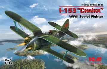 I-153,WWII Soviet Fighter · ICM 32010 ·  ICM · 1:32
