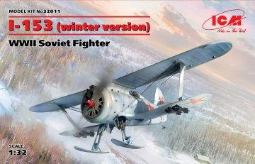 I-153 (winter version),WWII Soviet Fighter · ICM 32011 ·  ICM · 1:32