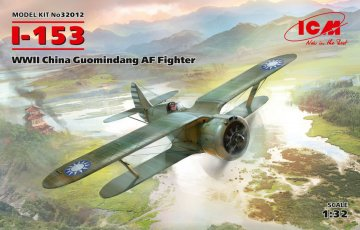 I-153 - WWII China Guomindang AF Fighter · ICM 32012 ·  ICM · 1:32
