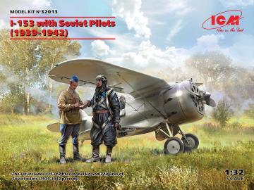 I-153 with Soviet Pilots (1939-1942) · ICM 32013 ·  ICM · 1:32