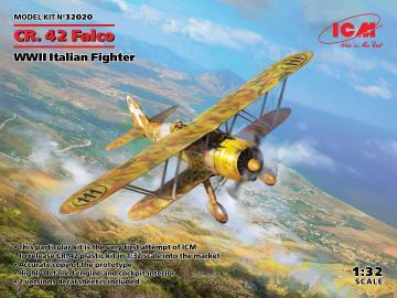 CR. 42 Falco, WWII Italian Fighter · ICM 32020 ·  ICM · 1:32