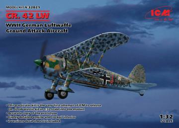 CR. 42 LW , WWII German Luftwaffe Ground Attack Aircraft · ICM 32021 ·  ICM · 1:32
