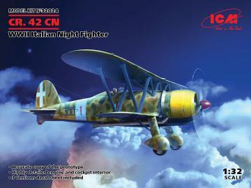 CR. 42CN, WWII Italian Night Fighter · ICM 32024 ·  ICM · 1:32