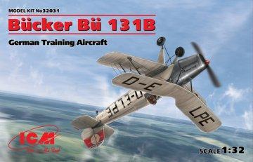 Bücker Bü 131B, German Training Aircraft · ICM 32031 ·  ICM · 1:32