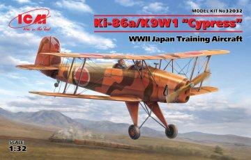 Ki-86a/K9W1 Cypress - WWII Japan Trainin Aircraft · ICM 32032 ·  ICM · 1:32