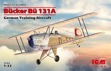 Bücker Bü 131A - German Training Aircraft · ICM 32033 ·  ICM · 1:32