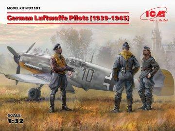 German Luftwaffe Pilots (1939-1945) (3 Figuren) · ICM 32101 ·  ICM · 1:32