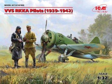 VVS RKKA Pilots (1939-1942) (3 Figuren) · ICM 32102 ·  ICM · 1:32