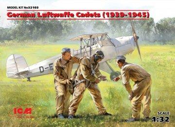 German Luftwaffe Cadets (1939-1945) (3 Figuren) · ICM 32103 ·  ICM · 1:32