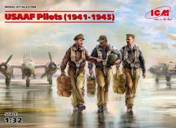 USAAF Pilots (1941-1945) (3 figures) · ICM 32104 ·  ICM · 1:32