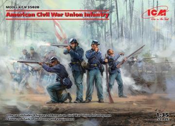 American Civil War - Union Infantry · ICM 35020 ·  ICM · 1:35