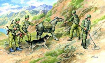 Soviet Sappers, Soviet-Afghan War (1979-88) · ICM 35031 ·  ICM · 1:35