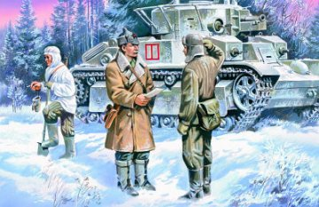 Red Army Infantry (1939-1942) · ICM 35051 ·  ICM · 1:35