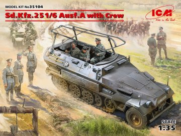 Sd.Kfz.251/6 Ausf.A with Crew, Limited Edition · ICM 35104 ·  ICM · 1:35