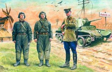 Soviet Tank Crew, 1939-41 · ICM 35181 ·  ICM · 1:35