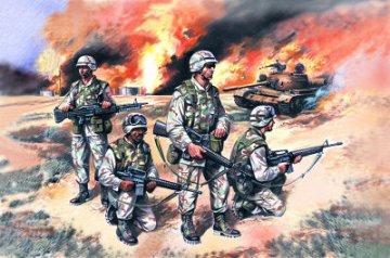US Elite Forces in Iraq, 2003 · ICM 35201 ·  ICM · 1:35