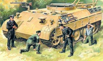 German Tank Crew · ICM 35211 ·  ICM · 1:35