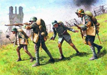 German Assault Troops, 1917-1918 WWI · ICM 35291 ·  ICM · 1:35