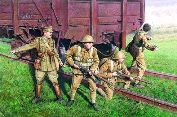British Infantry, WWI, 1917/191 · ICM 35301 ·  ICM · 1:35