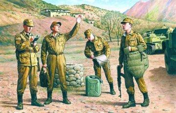 Soviet Motorized Infantry, Soviet-Afghan. War 1979-88 · ICM 35331 ·  ICM · 1:35