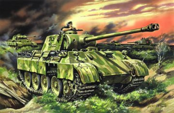 Pz.Kpfw. V Panther Ausf. D, WWII · ICM 35361 ·  ICM · 1:35