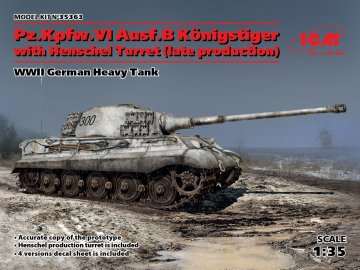 Pz.Kpfw VI Ausf. B, Königstiger · ICM 35363 ·  ICM · 1:35