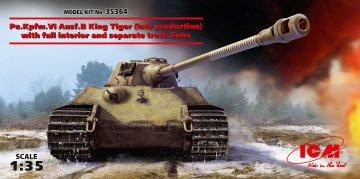 Pz.Kpfw. VI Ausf.B King Tiger late productioen with full interior · ICM 35364 ·  ICM · 1:35