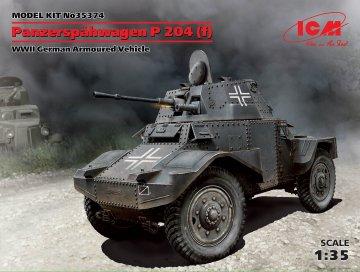 Panzerspähwagen P204 f · ICM 35374 ·  ICM · 1:35