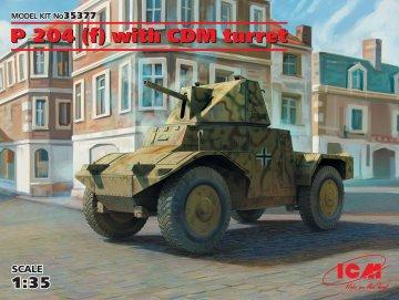 Panzerspähwagen P 204(f) with CDM turret · ICM 35377 ·  ICM · 1:35