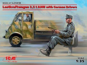Lastkraftwagen 3,5t AHN w. German Drivers - Limited Edition · ICM 35418 ·  ICM · 1:35
