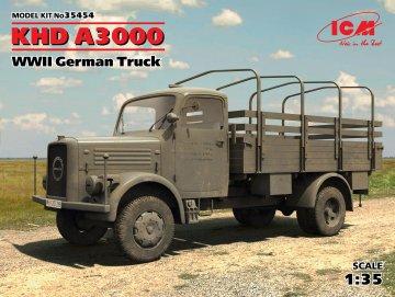 KHD A3000, WWII German Truck · ICM 35454 ·  ICM · 1:35
