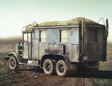 Krup L3H163 Kfz. 72 WWII German Radio Com. Truck · ICM 35462 ·  ICM · 1:35